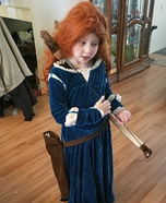 Merida from Brave Homemade Costume