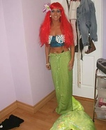 Homemade Mermaid Costume for Women