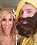 Mermaid and Fisherman Couple Costume