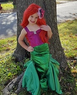 Mermaid Ariel Homemade Costume