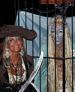 Mermaid in a Cage Costume