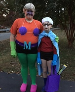 Mermaid Man & Barnacle Boy Homemade Costume