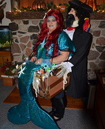 Mermaid Pirate Carry Me Homemade Costume