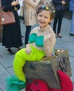 Mermaid Treasure Homemade Costume