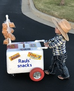 Mexican Snack Vendor Homemade Costume