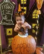 Mia's 1rst Halloween Homemade Costume