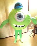 Michael Wazowski Homemade Costume