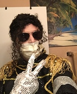 Michael Jackson Homemade Costume