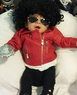 Cute Michael Jackson Baby Costume