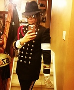 Women's Michael Jackson Costume