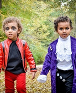 Michael Jackson and Prince Homemade Costume