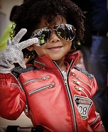 Michael Jackson Baby Homemade Costume