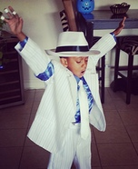 Michael Jackson Smooth Criminal Homemade Costume