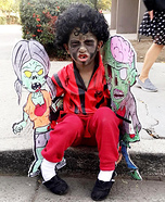 Michael Jackson Thriller Homemade Costume