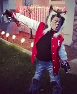 Michael Jackson Thriller Werewolf Homemade Costume