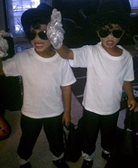 Michael Jackson Twins Homemade Costume