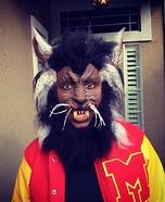 Michael Jackson's Thriller Werewolf Homemade Costume