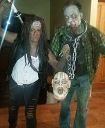Michonne with Walker Homemade Costume