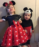 Mickey and Minnie Kids Costume