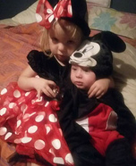 Mickey and Minnie Mouse Baby Costumes