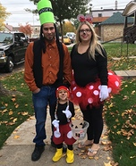 Mickey, Minnie and Goofy Family Homemade Costume