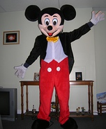 Mickey Mouse Mascot Costume for adults