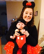 Adorable Mickey Mouse Baby Costume