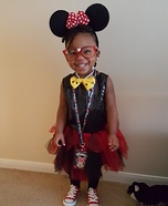 Minnie Mouse Baby Homemade Costume
