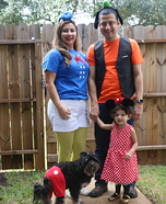 Mickey Mouse Clubhouse Homemade Costume