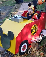 Mickey Mouse Roadster Homemade Costume