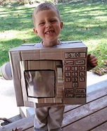 Microwave Homemade Costume