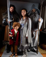 Middle Earth Family Homemade Costume