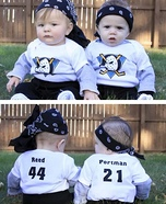 Mighty Ducks Baby Bash Brothers Homemade Costume