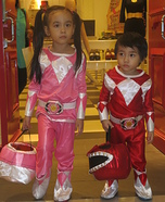 Mighty Morphin Power Rangers Homemade Costume