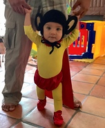Mighty Mouse Homemade Costume