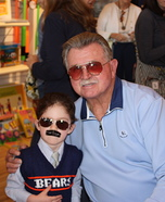 Mike Ditka Homemade Costume