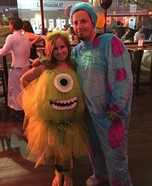 Monsters Inc. Mike Wazowski and Sulley Costume