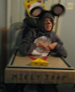 Mikey Trap Homemade Costume