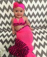 Little Mermaid Baby Halloween Costume