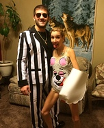 Miley Cyrus & Robin Thicke Homemade Costume