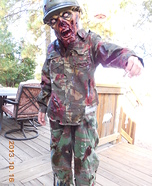Military Zombie Homemade Costume