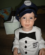 Milkman Toddler Costume