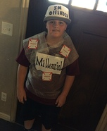 Millennials Homemade Costume
