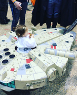 Millennium Falcon Homemade Costume