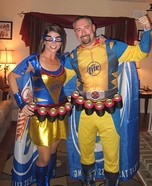 Miller Lite Super Heros Homemade Costume