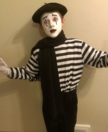 Mime Child's Costume