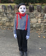 Mime Homemade Costume