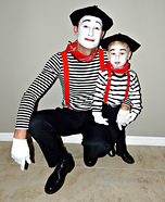 Mimes Homemade Costume