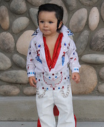 Minature Elvis Homemade Costume