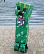 Minecraft Creeper Costume DIY